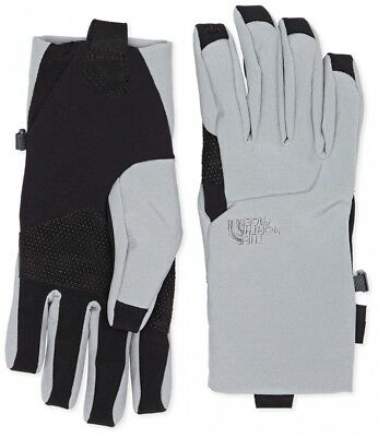 (Large, Monument Grey) - The North Face Women's Apex Etip Glove. Free Shipping