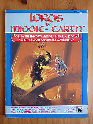 MERP, 1986 Lords of Middle-Earth Vol I, ICE 8002