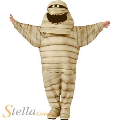 Boys Hotel Transylvania Mummy Costume Halloween Fancy Dress Child Outfit