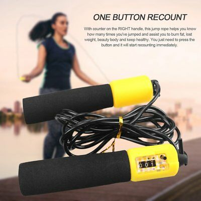 Adjustable Anti-slip Jump Rope With Accurate Counter Safe Jump Rope for Kids YQ