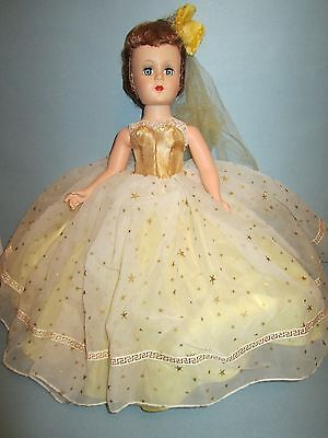 "Early Vintage H.P. Nancy Ann Style Show ""Golden Gleam"" Near Mint Plus Fantastic"