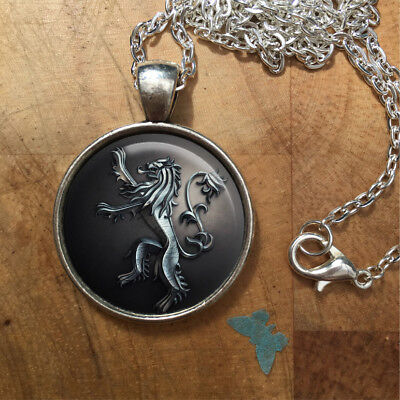 Game of Thrones Lannister House Necklace Pendant