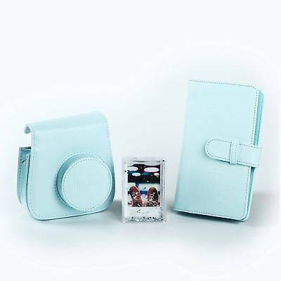 Fujifilm Blue Accessory Kit with Case / Album / Frame for Instax Mini 9 Camera
