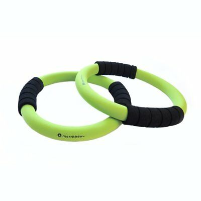 2 x Merrithew Fitness Pilates Circle Toning Rings (Green)