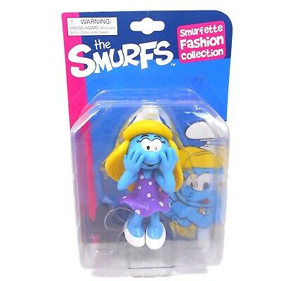 Smurfs Smurfette Fashion Collection Figure (14cm / 5.5 inches). RRP £8.99. New!