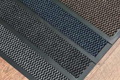 Heavy Duty Dirt-Barrier Non-Slip Office Shop Home Door Mat 60cm x 90cm (2'x3')