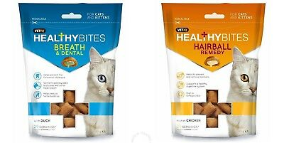 VetIQ Healthy Bites - Natural Treats & Supplement For Cats & Kittens