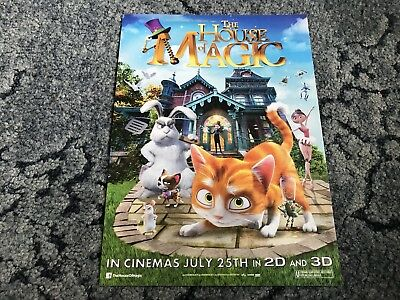 The House Of Magic Mini Movie Poster (2013)