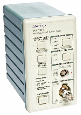 Tektronix TCPA300 Current Probe AMP DC to 100 MHz