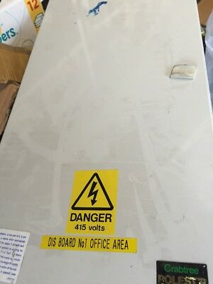 Crabtree Polestar 8 Way  TP+N Distribution Board 125A 230V/400 With Mcbs