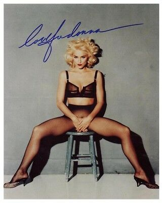 Madonna Autographed 8X10 Color Photo Reprint (Free Shipping)*