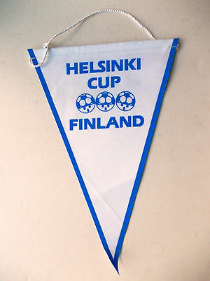 pennant Helsinki Youth Cup Finland Wimpel Gagliardetto