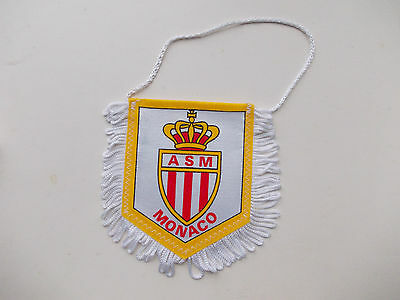 pennant AS Monaco France wympel wimpel gagliardetto