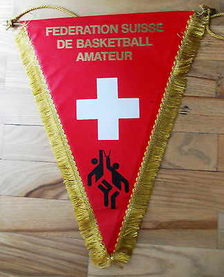 pennant Switzerland Basketball Association gagliardetto wimpel bandierina
