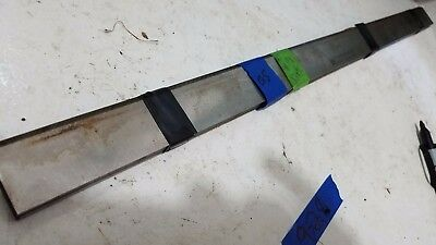 "Lot of (4) Letz Tm-100-00 1/8 x 1-3/8 x 24-1/4"" Jointer/Planer Blades (L-21-05)"