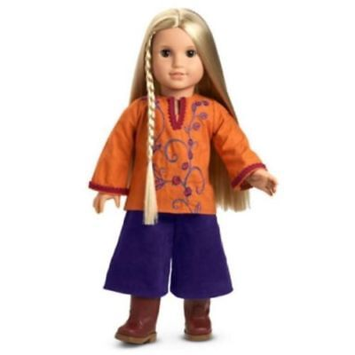 American Girl Doll Julie's Gauchos Casual Outfit NEW!! Retired Dog Walking