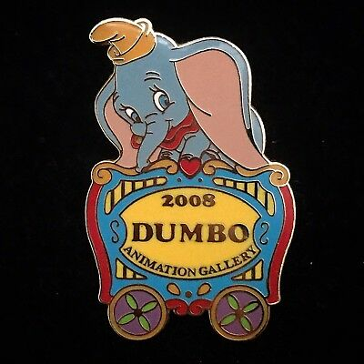 LE Dumbo Flying Elephant Circus Train Car Animation Gallery Cel 2008 Disney Pin