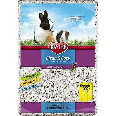 Kaytee Clean and Cozy Bedding Lavender 1000-Cubic-Inch 1000 Cubic Inch