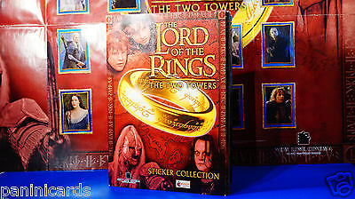 Topps Merlin The Lord of The Rings - The Two Towers Complete colleciton + poster