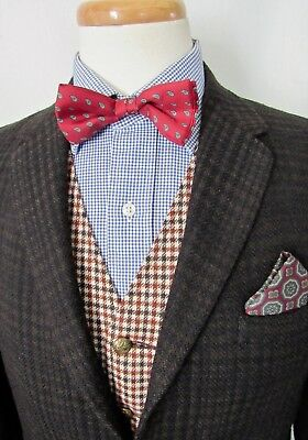 Vtg 1960s slim WOOL TWEED Sport Coat ~ 36 S ~ jacket Blazer Ivy League MOD