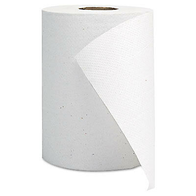 Hardwound Roll Towels, White, 8 x 350' 1800