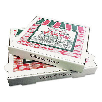 Takeout Containers, 16in Pizza, White, 16w x 16d x 2 1/2h, 50/Bundle PZCORB16