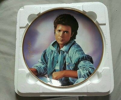 """Cliff Richards """"In Time"""" forty years in music Collectors plate"""