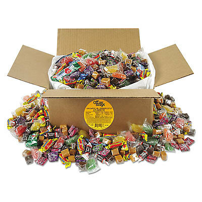 Soft & Chewy Candy Mix, Individually Wrapped, 10 lb Values Size Box 00086