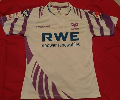 Ospreys Rugby Shirt White/Purple