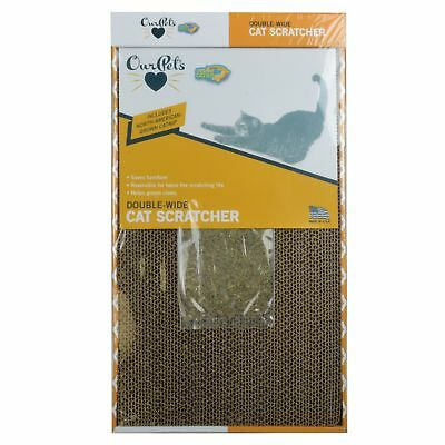 Our Pets Far and Wide Cat Scratcher with North-American Grown Catnip -1
