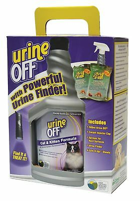 URINE OFF 1-Flip Top Carpet Applicator Cap for Hard Surfaces and 2-Two Pack Z...