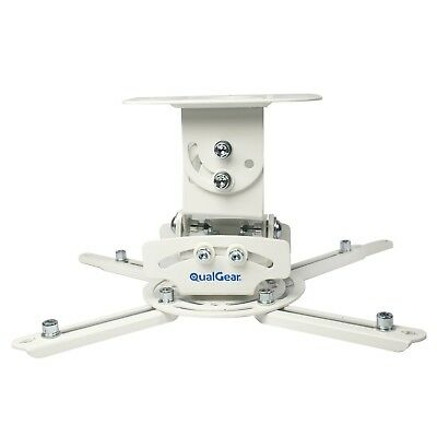 QualGear eHotCafe PRB-717-WHT Universal Projector Ceiling Mount White