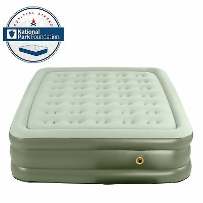 Coleman Company SupportRest Double High Airbed - QueenGreen Queen