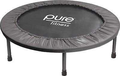 "Pure Fitness 38"" Mini Rebounder Trampoline Ages 13+"