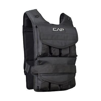 CAP Barbell Adjustable Weighted Vest 50 lb 50-Pound