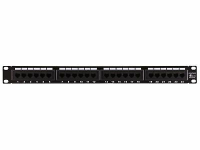 Monoprice 107253 110 Type 24-Port Cat6 Patch Panel (568A/B Compatible)