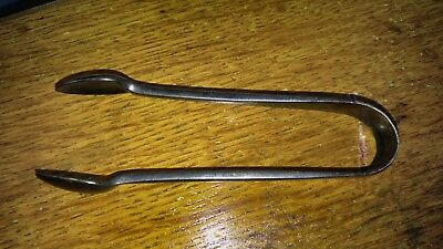 Antique Birks Sterling Silver Sugar Tongs