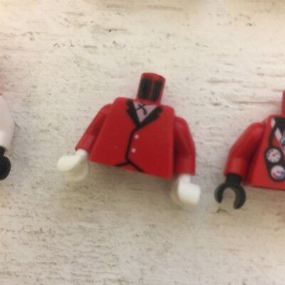 Lego Red Torso Show Jumping
