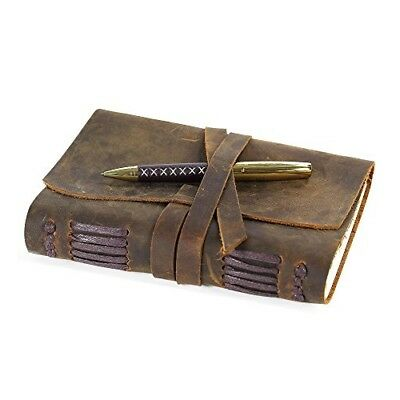 Leather Journal Writing Notebook, Handmade Vintage Bound Diary Men & Women