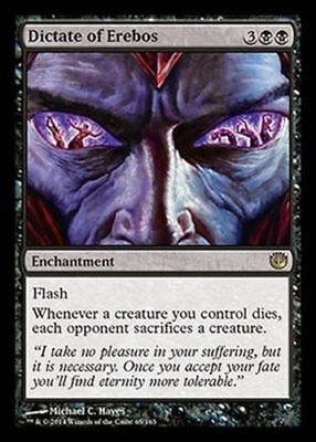 Dictate of Erebos - Journey Into Nyx - Mint/Near Mint - English - MTG