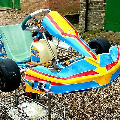 Kart Alonso OTK 2014 Rolling Chassis.Tonykart EVK , 401 Racer For Rotax iame X30