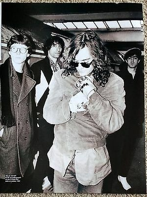 R.E.M. / MICHAEL STIPE - Classic Black & White Magazine Photo Picture Cutting