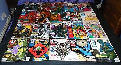 20 x 2000 AD progs Mark Millar,Grant Morrison 880-880 Issue 874  with Poster