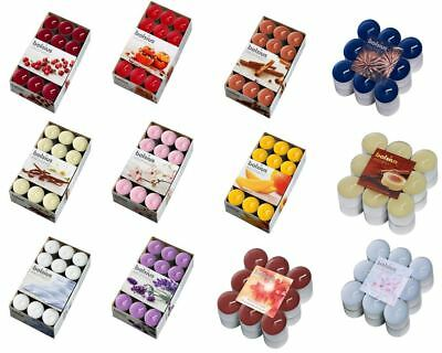 Scented / Plain Wax Tea Lights T Light Small Candles - Choose From 13 Fragrances
