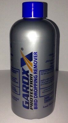 Genuine GARDx Bird Dropping Remover 250ml Bottle New And Sealed