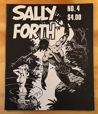 Sally Forth #4 By Wallace Wood - Wally Wood: Oversize Comic & a First Printing