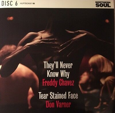 FREDDY CHAVEZ They'll Never Know Why DON VARNER Tear Stained Face NEW NORTHERN