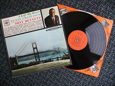 Tony Bennett - I Left My Heart in San Francisco - original 1965 vinyl album