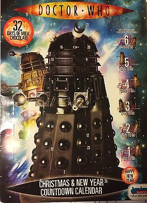 Dr Who Christmas & New Year Countdown Calendar - without the chocolates!