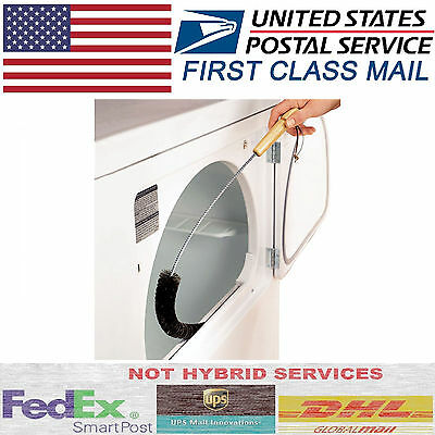 CLOTHES DRYER Lint Vent Trap Cleaner Brush gas electric Fire Refrigerator